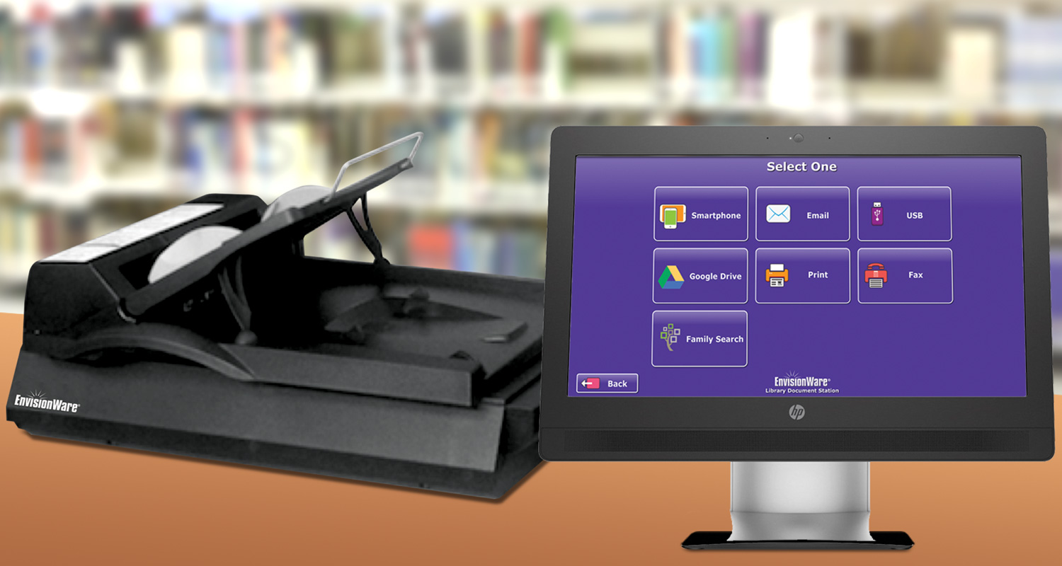 EnvisionWare Scanning, Copying & Faxing - Library Document Station