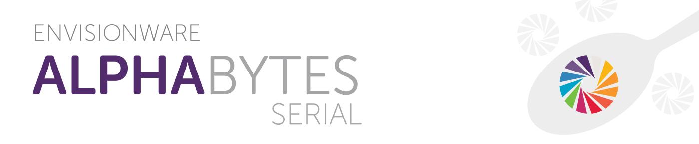 Alphabytes Serial