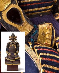 Sue Ramsey-Cashmark restores Japanese armor