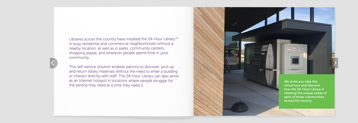 EnvisionWare 24-Hour Library Flipbook