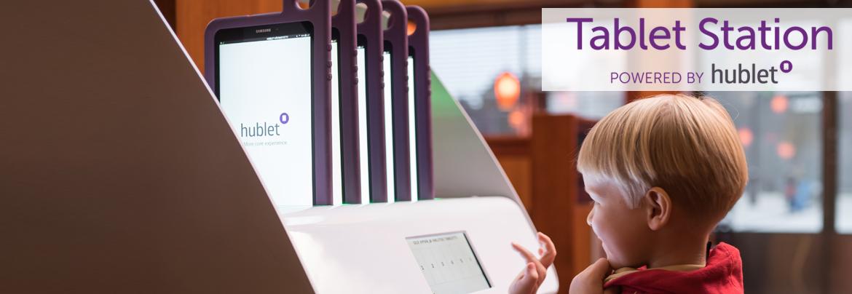 EnvisionWare Tablet Station