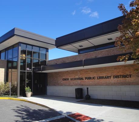Cook Memorial Library - exterior