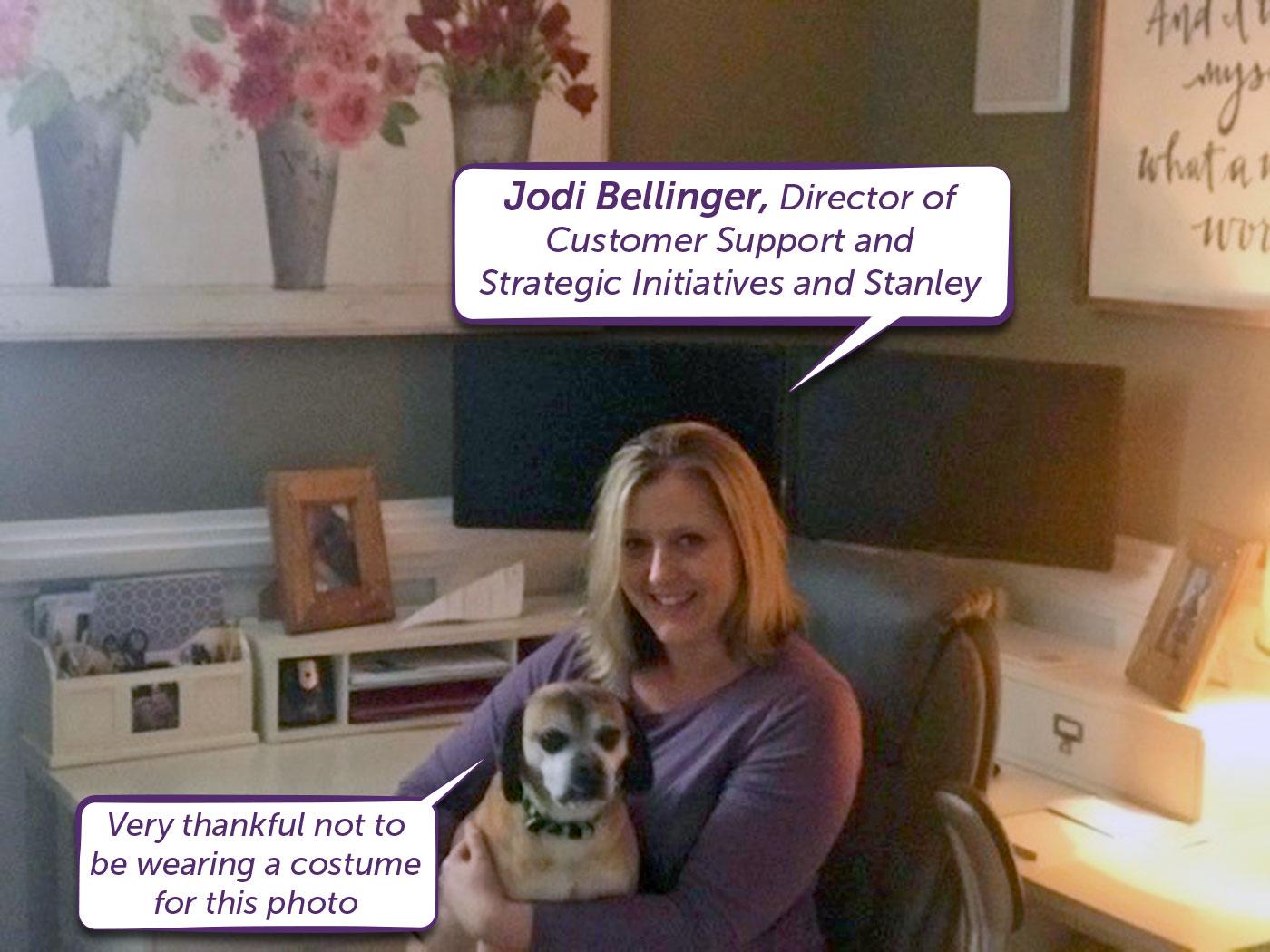 Jodi Bellinger @Home