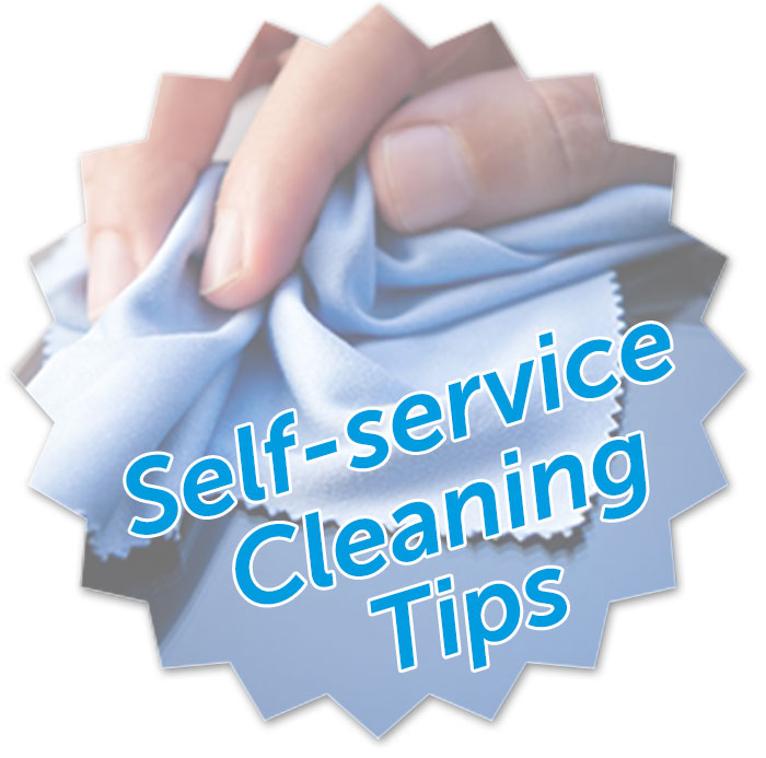 Self-service Cleaning Tips