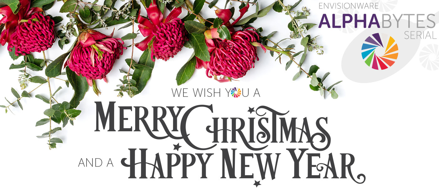 EnvisionWare Alphabytes Serial - Merry Christmas and Happy New Year